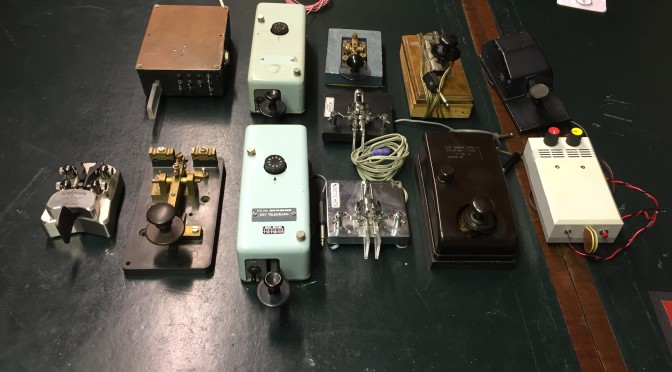 Club Meeting 6 April 2017 – Morse Key comparison